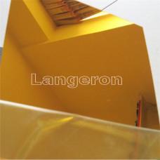 акрил зеркальный золото  1 мм  60*60 см