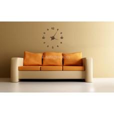 Часы деревянные на стену/ кофе/декор/круглые