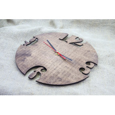 """Часы настенные из фанеры """"Круглые"""" любого цвета"""