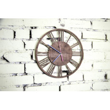 """Часы настенные из фанеры """"Римские"""" любого цвета"""