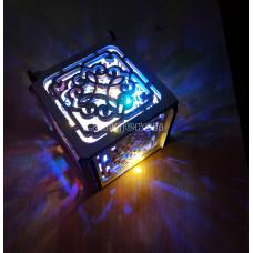 Шкатулка декоративная подарочная со светодиодной лентой