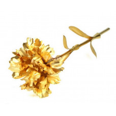 Гвоздика золотая ( 24К ) подарок 25 см