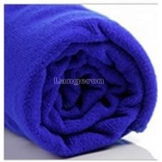 Полотенце из микрофибры 60*160 синее 310г