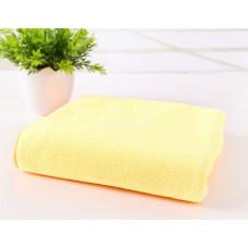 Полотенце микрофибра 70*140 желтый