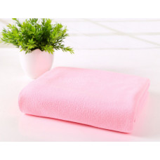 Полотенце микрофибра 70*140 светло-розовый
