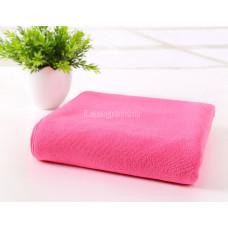 Полотенце микрофибра 70*140 темно-розовый