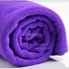 Полотенце из микрофибры 70*140 микрофибра банное пляжное для бассейна фиолетовое