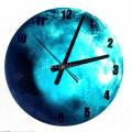 Часы  светящиеся в темноте Уран 30 см