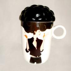 Кружка раздевающийся парень afro cup