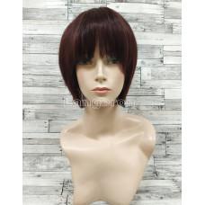 Парик из натуральных волос модель М15 коричневый