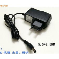 Адаптер питания зарядное устройство 600MA 5.5 * 2.5mm 5V1A