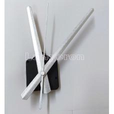 Настенный часовой механизм стрелка 19 см стрелки цвет серебро