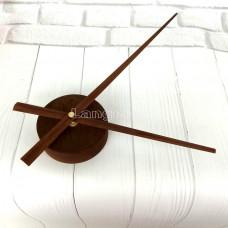 Часовой механизм 30 см стрелки цвет ретро, ржавчина, лофт стиль