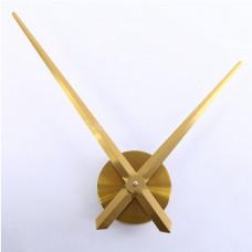 Часовой механизм 40см минутная стрелка золотой цвет