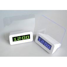 Часы с led доской для записей + маркер, 3 будильника board