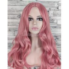 Постельное белье, односпальный комплект сатин жаккардовый ярко-розовый с цветами (1,5м)
