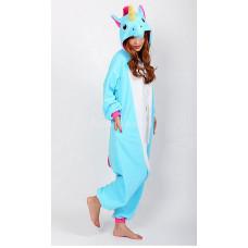 Пижама Единорог голубой M рост 155-165 My little pony размер пони кигуруми kigurumi