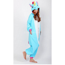 Пижама кигуруми kigurumi Единорог на рост 155-165 My little pony размер M голубой пони