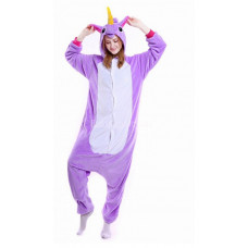 Пижама кигуруми kigurumi Единорог рост 145-155 S My little pony фиолетовый