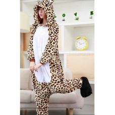 Пижама кигуруми kigurumi Леопард на рост 145-155 S