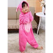 Пижама детская Стич розовый рост 115-120см Кигуруми