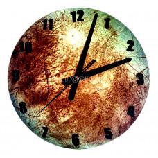 Часы настенные светящиеся в темноте Тритон 30 см
