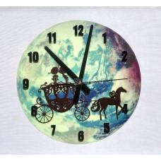 Часы настенные светящиеся в темноте Сказка 29 см