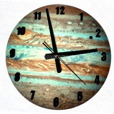 Часы настенные светящиеся в темноте Юпитер 30 см