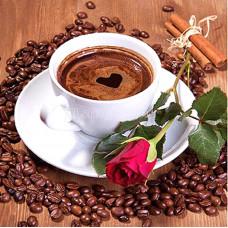 Картина для выкладывания камнями Чашка кофе 30*40