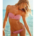 Купальник розовый S бандо
