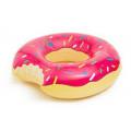 Надувной круг + насос надкушенный Пончик Donut #90