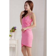 Туника халат платье стиль Victorias secret 140*70 Ярко-розовый