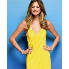Туника халат платье пляжное 140*70 Цвет желтый