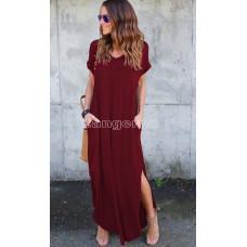 Платье бордовое L XL