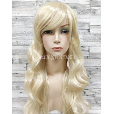 Парик блонд волнистый аниме косплей cosplay длинный