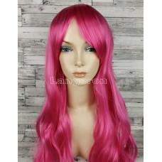 Парик малиновый ярко-розовый 70см