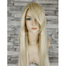 Парик искусственные волосы аниме блонд 100см косплей cosplay прямой ровный