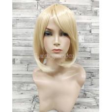 Парик каре платиновый блонд аниме косплей cosplay
