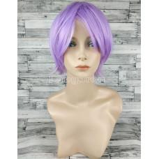 Парик фиолетовый короткий сиреневый светло-фиолетовый