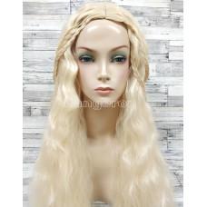 Парик искусственный карнавальный Daenerys Targaryen Mother Dragons игра престолов Дейенерис Таргариен блонд