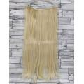 Трессы блонд ровные на ленте 60см 130г прямые искусственные термостойкие волосы на клипсах №613