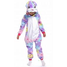 Пижама кигуруми для детей  Заяц звездный на рост 120см