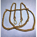 Цепочка-ручка для сумки  120 см 7мм  цвет  бронза двойное плетение  вес 87гр.