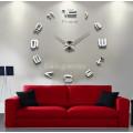 Настенные часы объемные 1м с цифрами diy сделай сам зеркальные