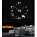 Настенные объемные часы до 1м с цифрами и штрихами diy сделай сам Art Clock 3d