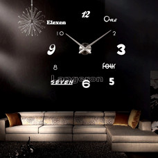 Настенные объемные часы до 1м с цифрами diy сделай сам Art Clock