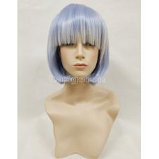 Парик каре нежно-голубой с белым аниме косплей cosplay