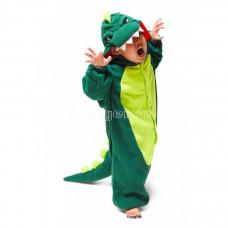 Пижама кигуруми для детей  Крокодильчик  рост 140см