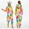 Пижама Единорог звездный желтый/оранжевый М рост 155-165 кигуруми