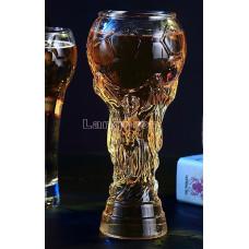 Бокал для пива в форме кубка мира по футболу 380мл